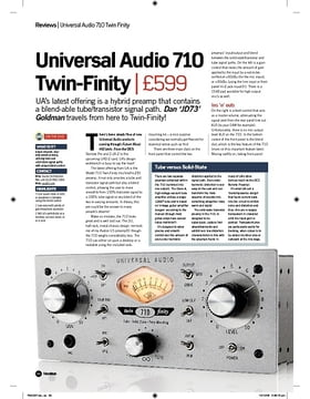 Universal Audio 710 TwinFinity