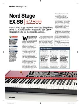 Nord Stage EX