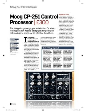 Moog CP251 Control Processor