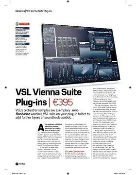 VSL Vienna Suite Plugins