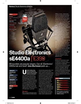 Studio Electronics sE4400a