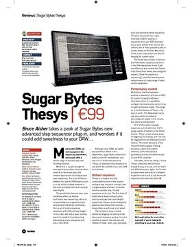 Sugar Bytes Thesys