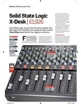 Solid State Logic XDesk