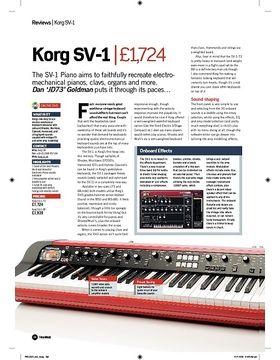 Korg SV1