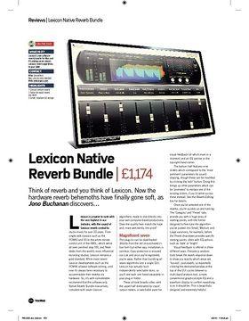 Lexicon Native Reverb Bundle