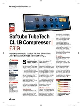 Softube TubeTech CL 1B Compressor