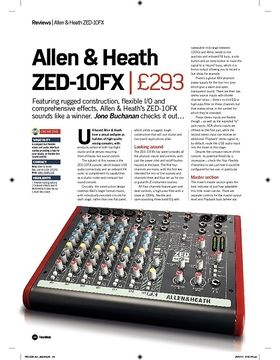 Allen and Heath ZED10FX