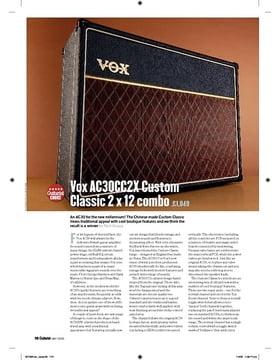 Vox AC30CC2X Custom Classic 2 x 12 combo