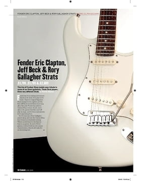 Rory Gallagher Tribute Strat