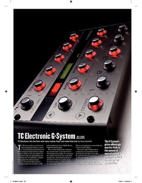 TC Electronic G-System