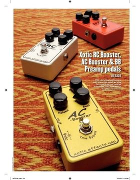 Xotic BB Preamp pedals