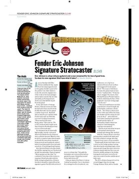 Fender Eric Johnson Signature Stratocaster