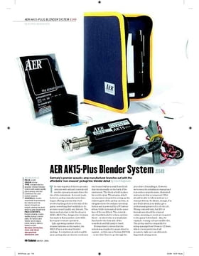 AER AK15Plus Blender System