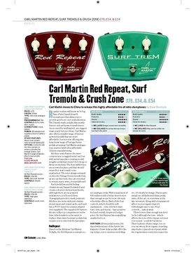 Carl Martin Surf Tremolo