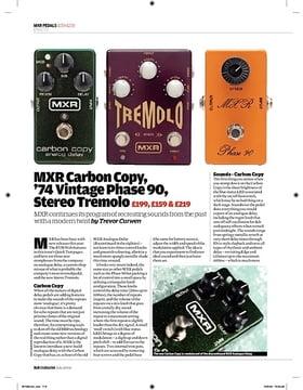 MXR CSP 026 74 Vintage Phase 90