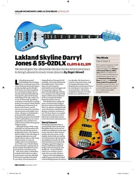 Lakland Skyline Darryl Jones