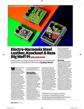 ElectroHarmonix Bass Big Muff Pi