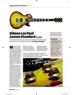 Les Paul Axcess Floyd EB LH