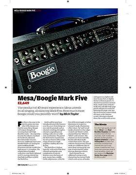 Mesa/Boogie Mark Five
