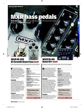 MXR M181 Bass Blow Torch