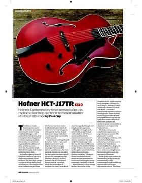 Hofner HCTJ17TR