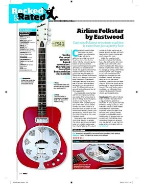 Airline Folkstar Red B-Stock
