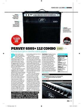 Peavey 6505+ Combo