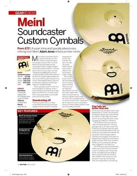 Meinl Soundcaster Custom Cymbals