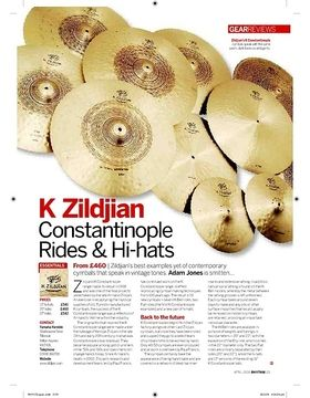 K Zildjian Constantinople Rides and Hihats