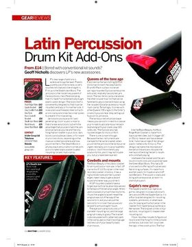 Latin Percussion Drum Kit AddOns