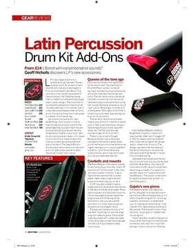 Latin Percussion Drum Kit AddOns