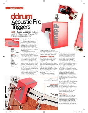 DDTT Pro Acoustic Tom Trigger