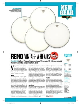Remo Vintage A Heads