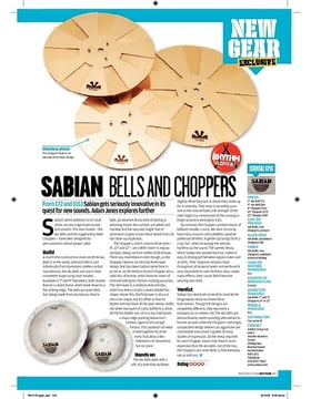 Sabian Bells and Choppers