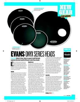 EVANS ONYX SERIES HEADS