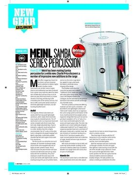 Meinl Samba SERIES PERCUSSION