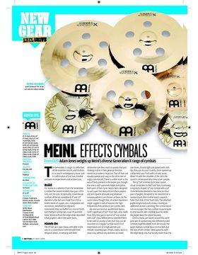 MEINL EFFECTSCYMBALS