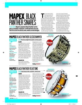 MAPEX BLACK PANTHER SLEDGEHAMMER
