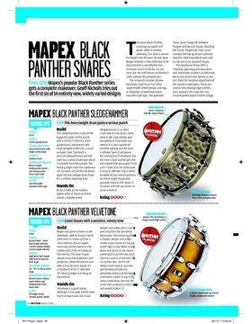 MAPEX BLACK PANTHER VELVETONE