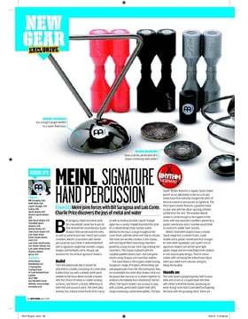 MEINL SIGNATURE HAND PERCUSSION