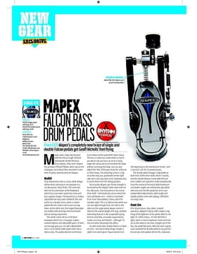 MAPEX FALCON BASS DRUM PEDALS