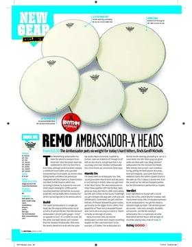 Remo Ambassador X Heads