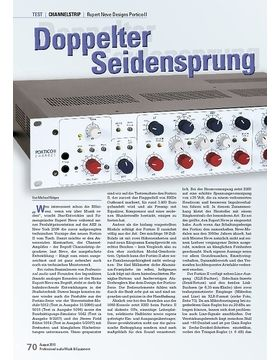 Doppelter Seidensprung Rupert Neve Designs Portico II