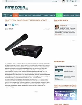 Test: Vocal-Wireless-System LINE6 XD-V30
