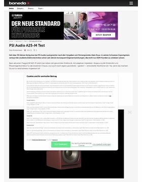 PSI Audio Aktiv Monitore