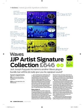 Waves JJP Artist Signature Collection