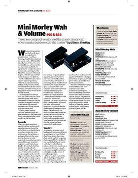 Mini Morley Wah