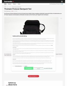 Thomann Producer Backpack