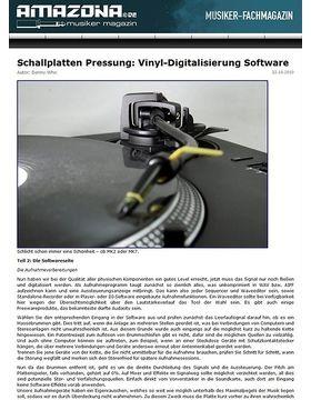Special: Hochwertige Vinyldigitalisierung Teil 2