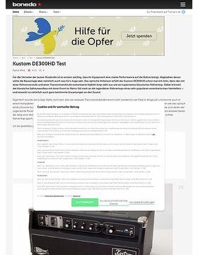 Kustom DE300HD